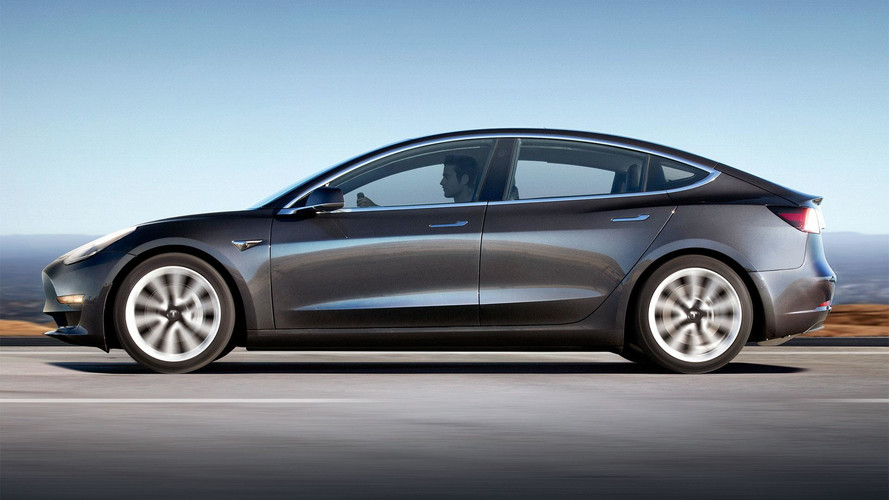 Tesla Model 3 Likely Has 334-Mile Range, Window Sticker Says Less