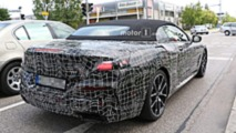 Bmw 8 Series Convertible Spied Without Any Camouflage