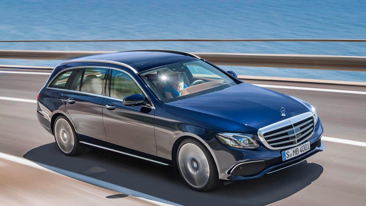 Platz 3: Mercedes E-Klasse T-Modell (1.820 Liter)