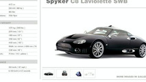 Spyker C8 Laviolette SWB