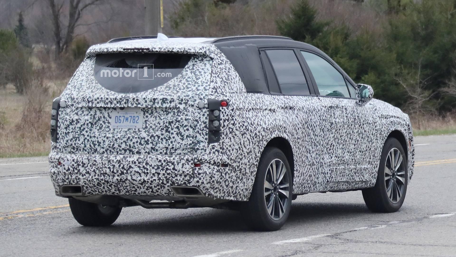 2019 - [Cadillac] XT6 Cadillac-xt6-spy-photos