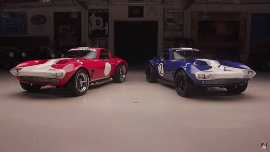 Superformace Corvette Grand Sport'lar Jay Leno'nun Garajı'nda