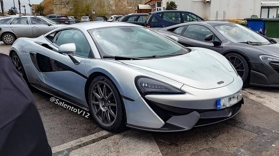 Hotter McLaren 570S Was Actually Spotted Testing Months Ago