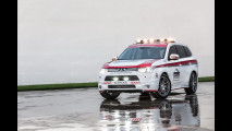 Mitsubishi Outlander e Lancer Evo, auto di sicurezza per la Pikes Peak 2013