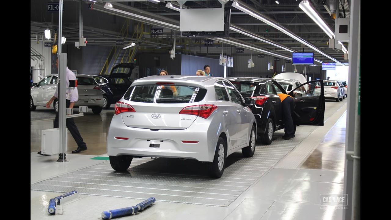 Vai faltar HB20: Funcionários da fábrica da Hyundai em Piracicaba entram em greve