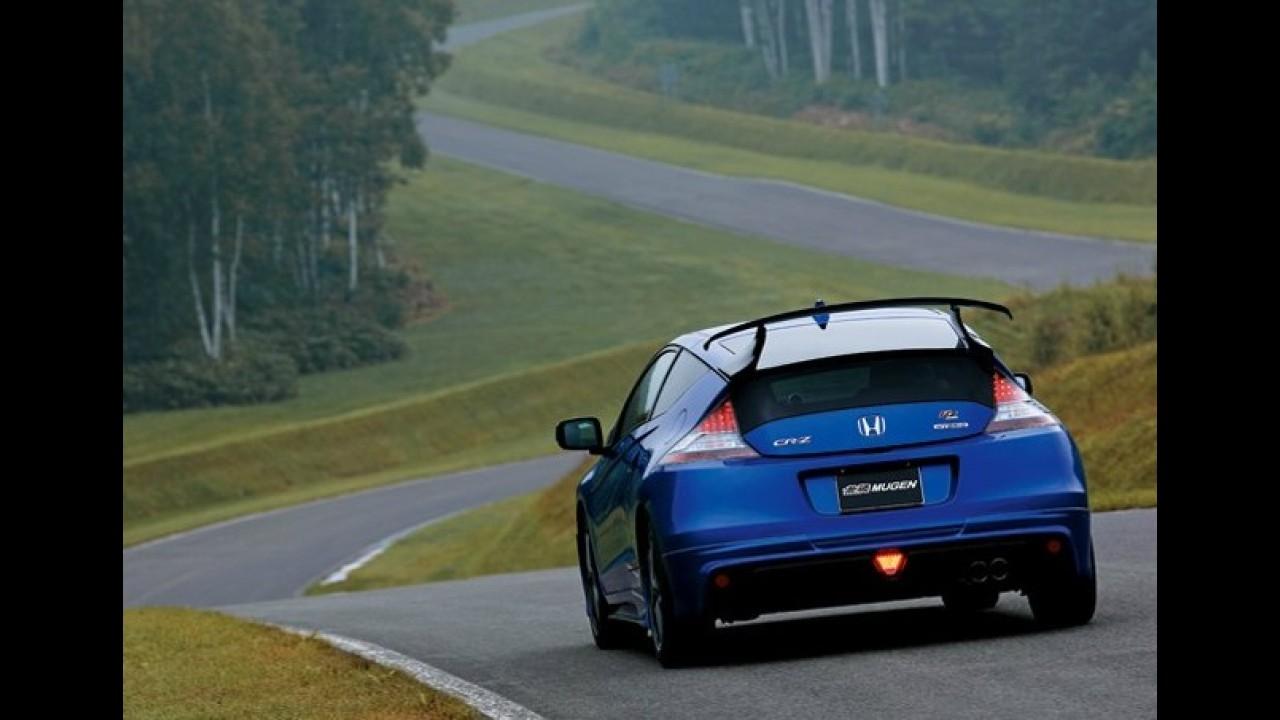 Honda CR-Z Mugen RZ é revelado no Japão