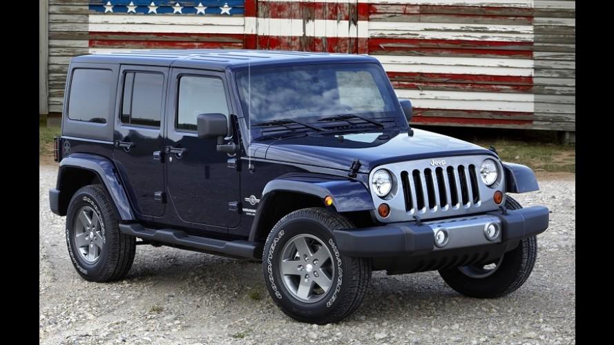 À la Defender: novo Jeep Wrangler pode adotar carroceria de alumínio