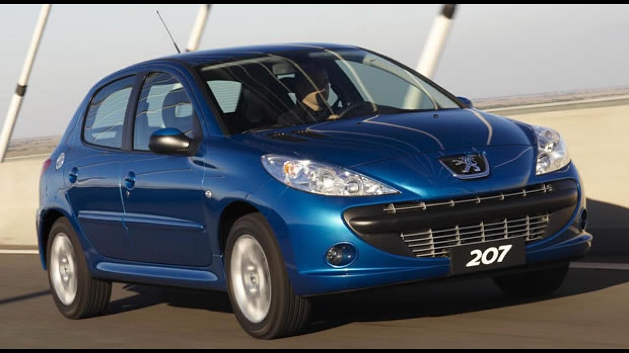 Peugeot anuncia Recall do 207 por risco do capô soltar