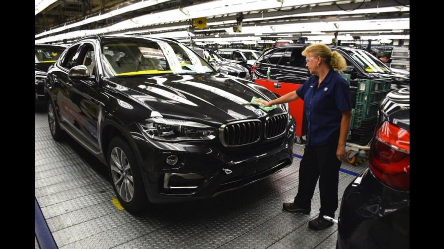 BMW: fábrica dos EUA, recordista em exportação, começa a produzir novo X6