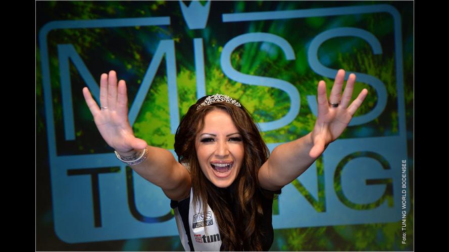 Liane ist die Miss Tuning 2015