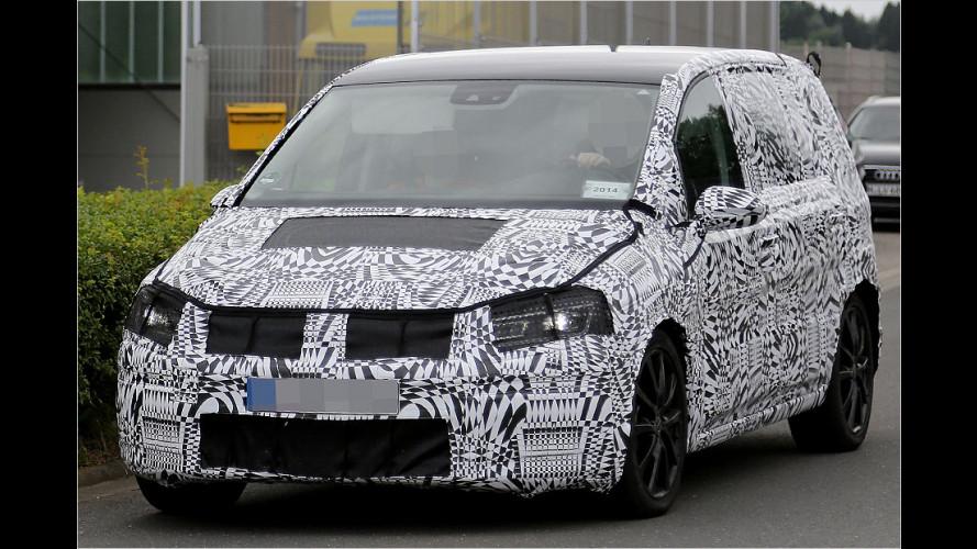 Erwischt: VW Touran