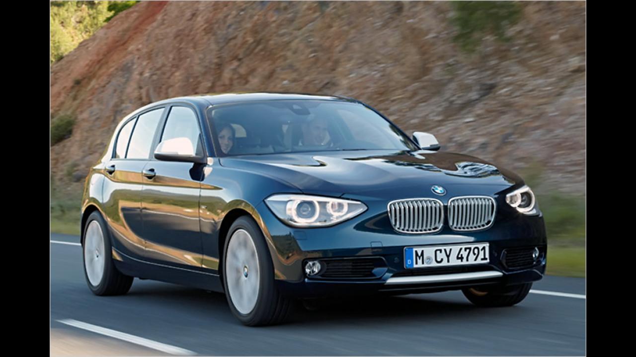 Kompaktklasse, 50.001 bis 100.000 Kilometer: BMW 1er (2011)