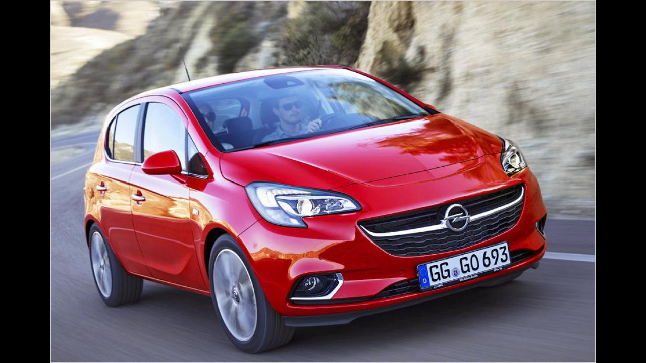 Platz 9: Opel Corsa
