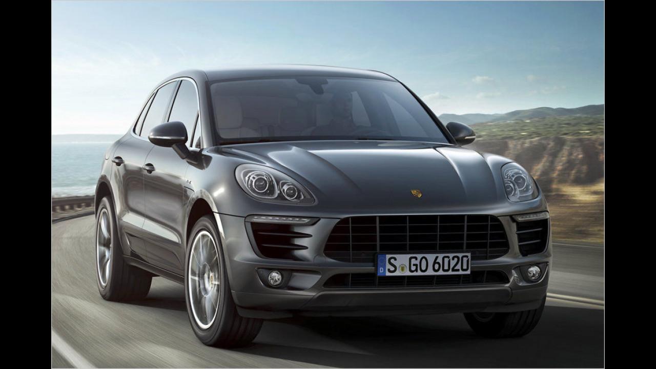 Top: Porsche Macan, Baujahr 2014, 58 Standtage