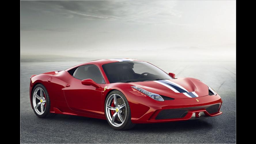Auch Ferrari setzt auf bewegliche Spoiler
