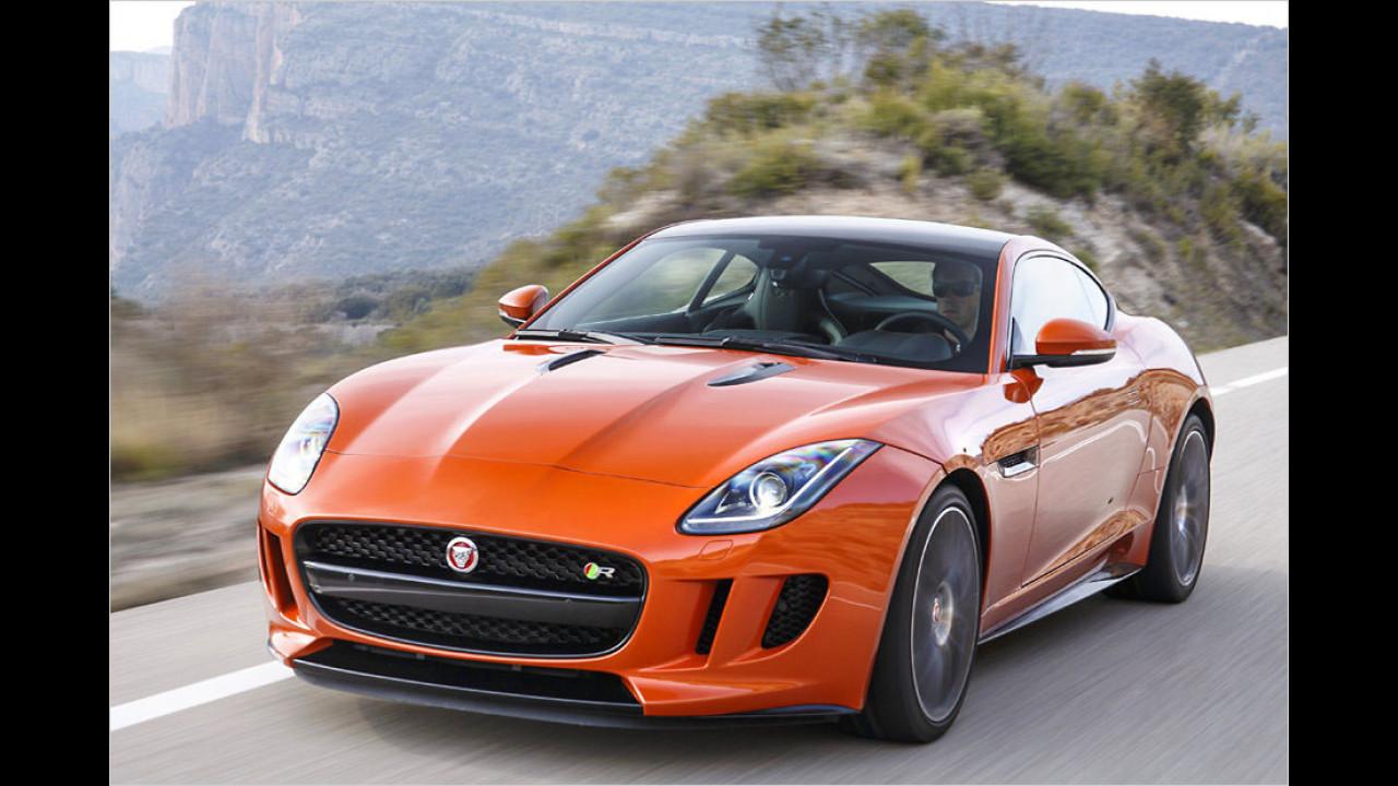 Jaguar im F-Type Coupé R