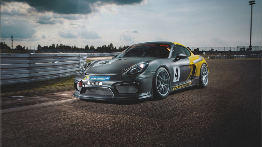 Porsche Cayman GT4 Clubsport by Manthey-Racing