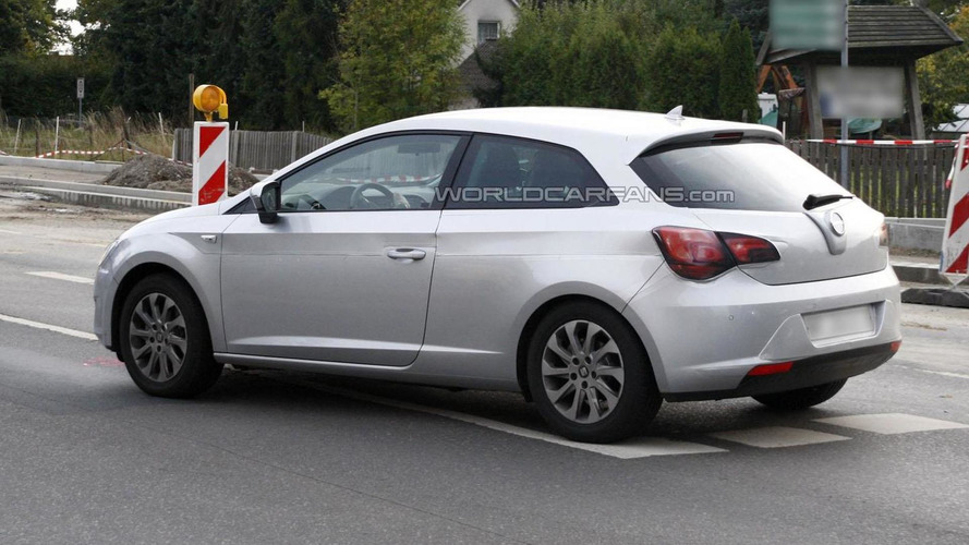 2013 Seat Leon three-door hatchback spied as Opel Astra
