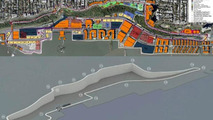 Port Imperial Street Circuit course map, Weehawken, New Jersey