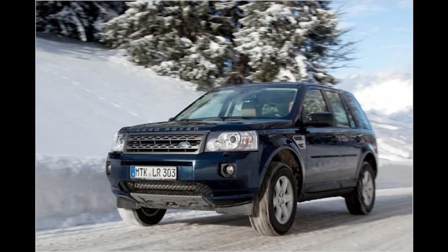 Kompakter Geländekünstler: Land Rover Freelander SD4