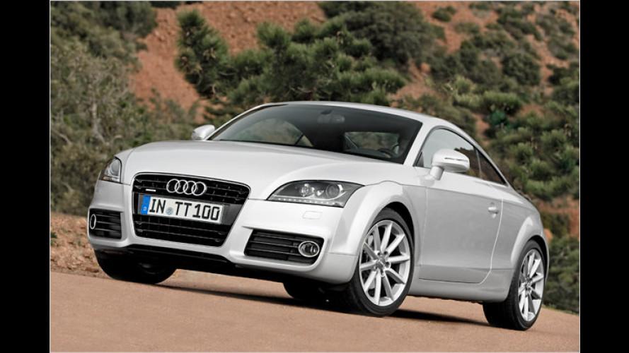 Audi: TT-Facelift, neue Motoren im Q7 und modifizierter A3