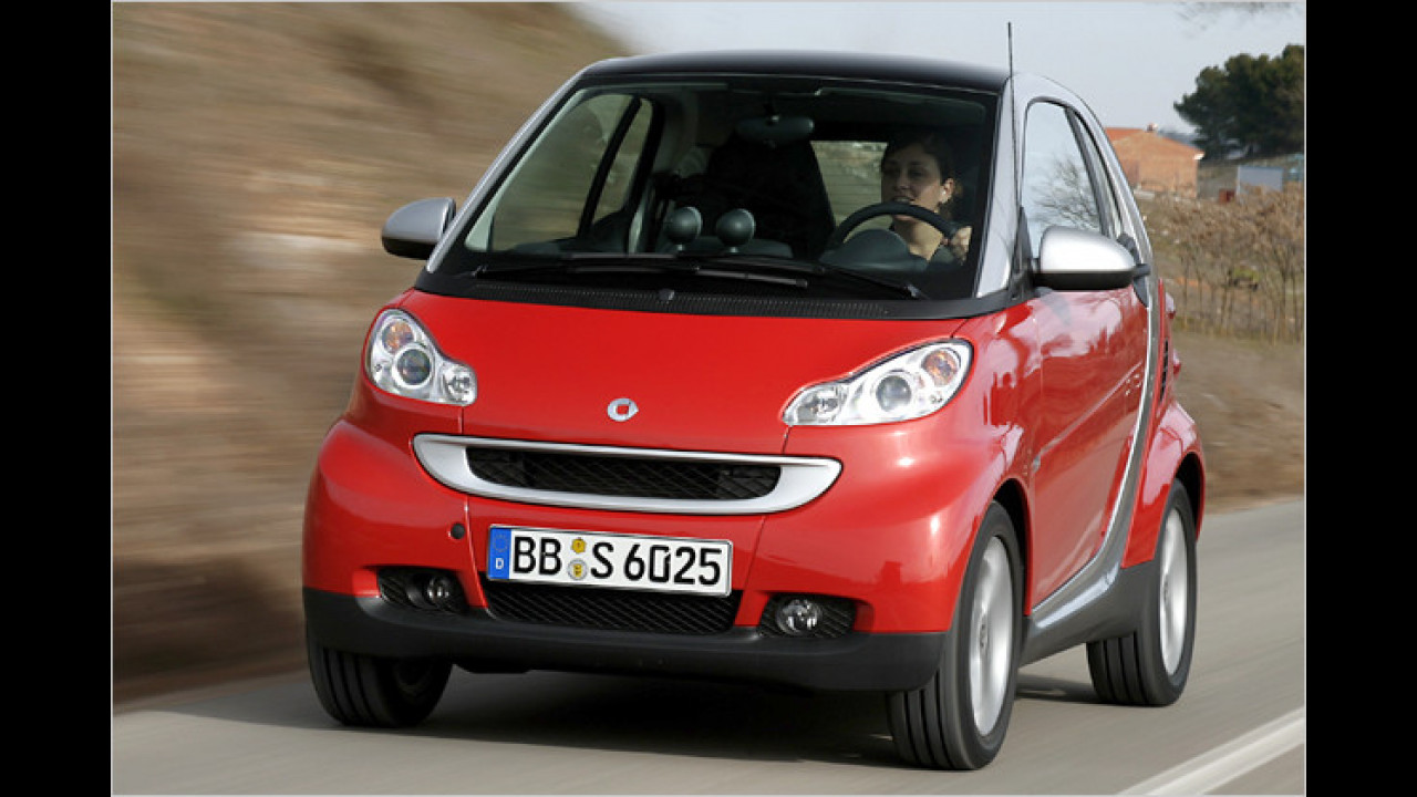 smart fortwo coupé 1.0 mhd 45 kW pure