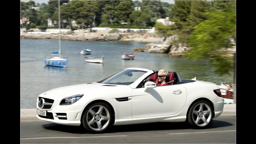 Mercedes SLK 250 CDI: Sportlich und trotzdem sparsam