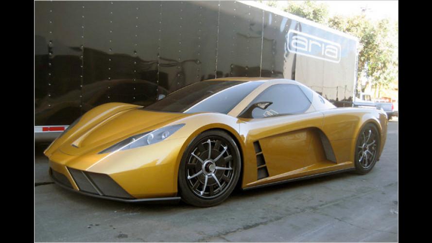 Kepler Motors Motion: Hybridsportwagen mit über 800 PS