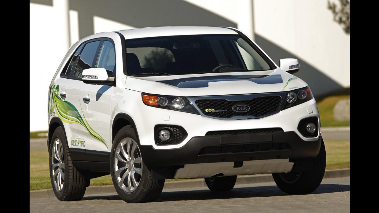 Kia Sorento diesel hybrid
