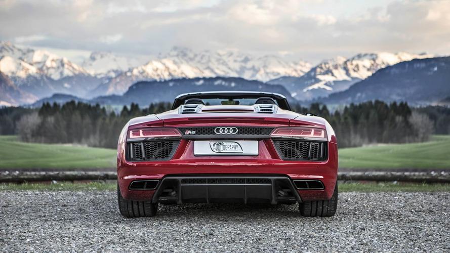2018 Audi R8 Spyder V10 RWS and 2011 Audi R8 Spyder V10 GT S by ABT