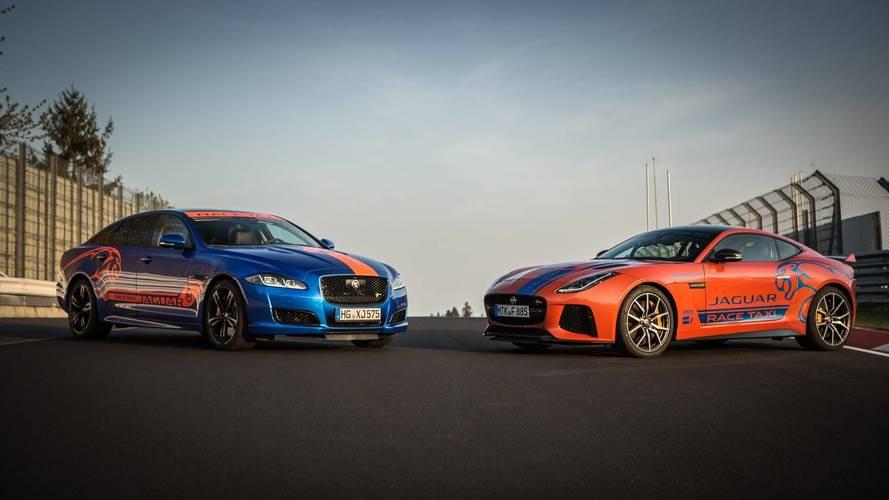 Jaguar has gone all Crazy Taxi at the Nürburgring