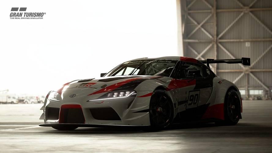 Toyota GR Supra Racing Concept GT Sport'ta oynanabilir hale geldi