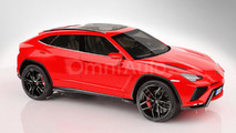 2018 Lamborghini Urus render