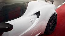 Alfa Romeo 4C bumped to 314 hp does 190 mph