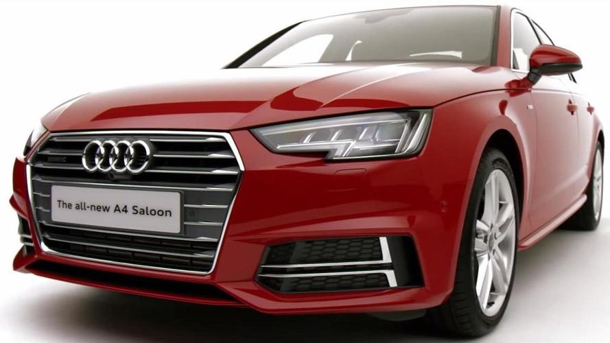 2015 Audi A4 Sedan S line