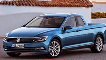 Volkswagen Passat Pickup render