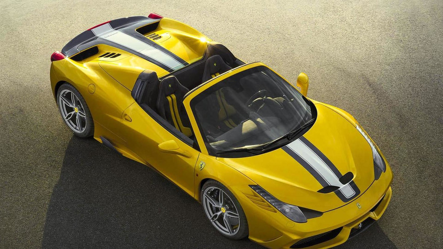 Ferrari 458 Speciale Aperta limited edition goes official