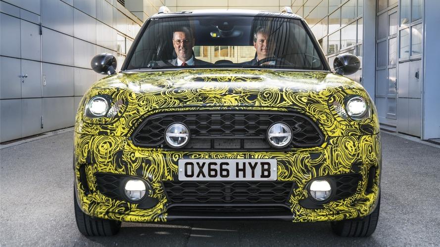 Mini confirme un nouveau Countryman hybride
