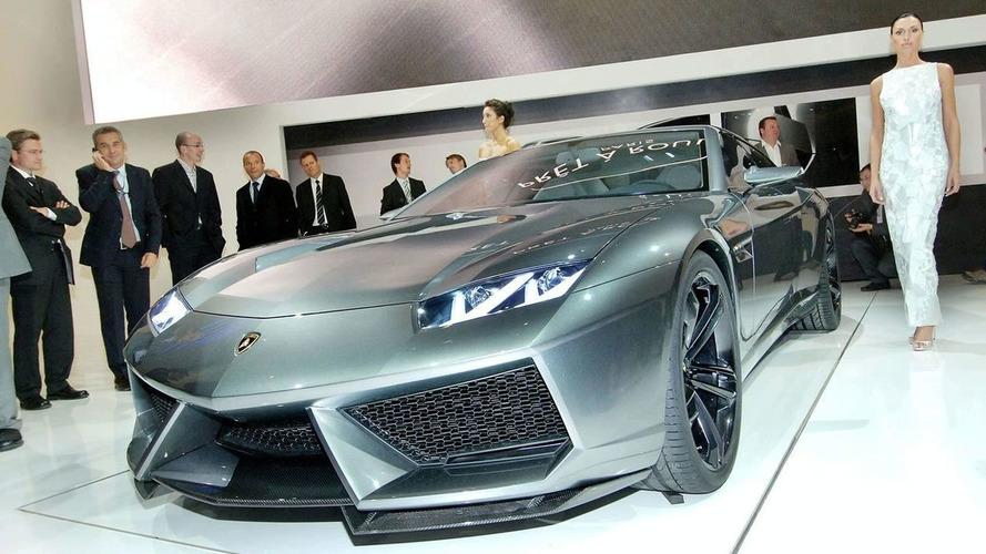 Lamborghini Estoque Production Version Details Surface