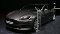 Tesla Model S 2016 Mondial de l'Automobile