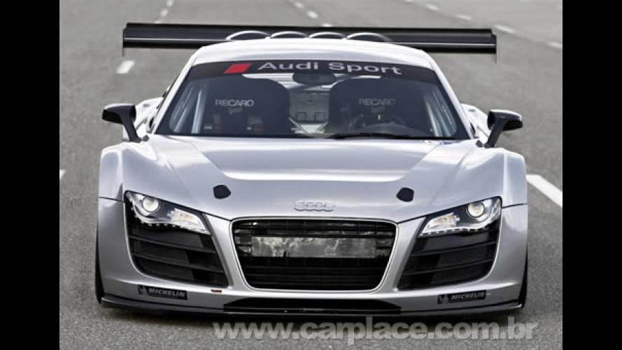 Audi R8 GT3 - Versão para corrida terá mais de  500 cavalos de potência