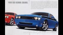 Catálogo do Dodge Challenger 2009 vaza na internet - Preços são revelados