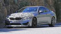 2017 BMW M4 facelift spy photo