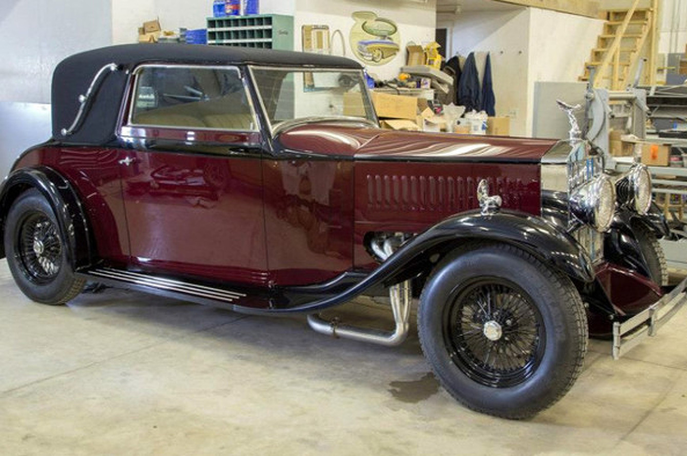 This 1930 Rolls-Royce is Hiding a Big, Loud Secret