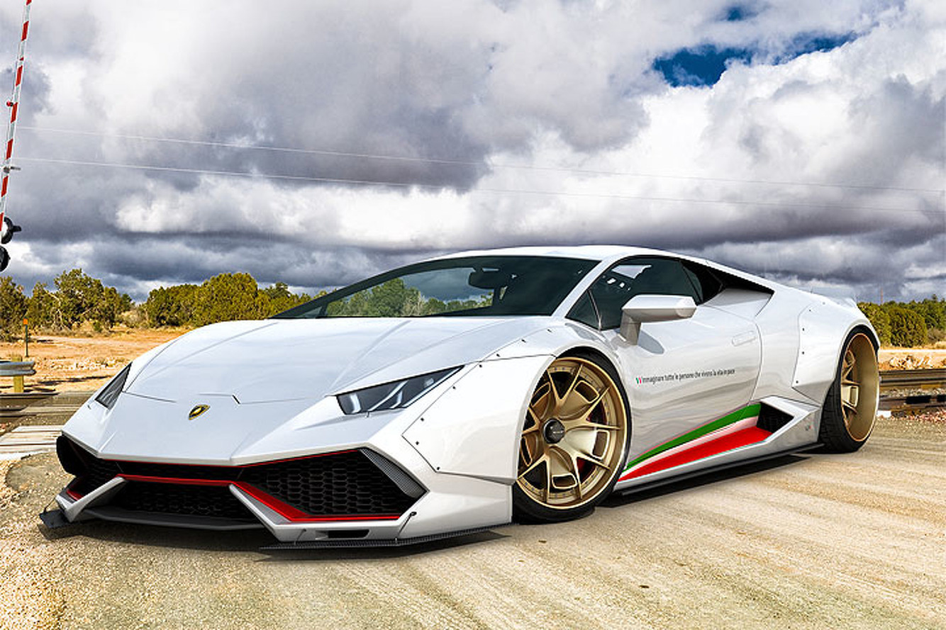 GWA Tuning Gives the Lamborghini Huracan a Mean Makeover
