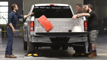 Chevy truck bed tests
