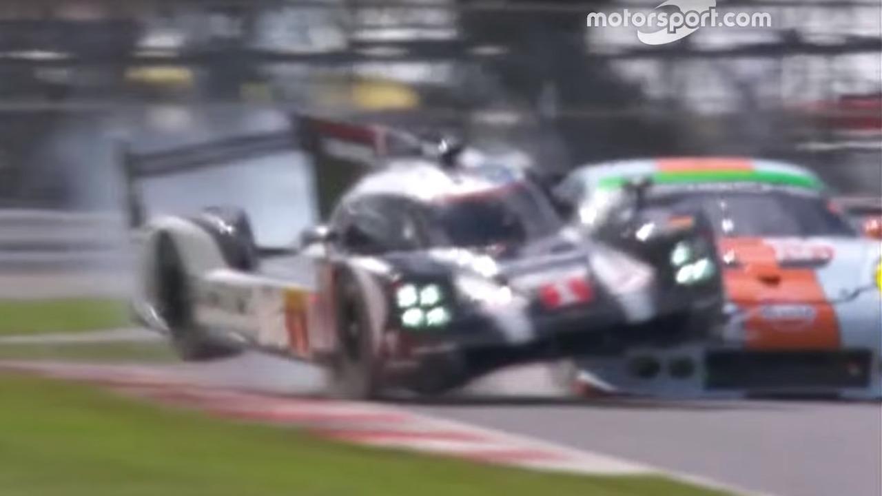 6H of Silverstone - Brendon Hartley crash