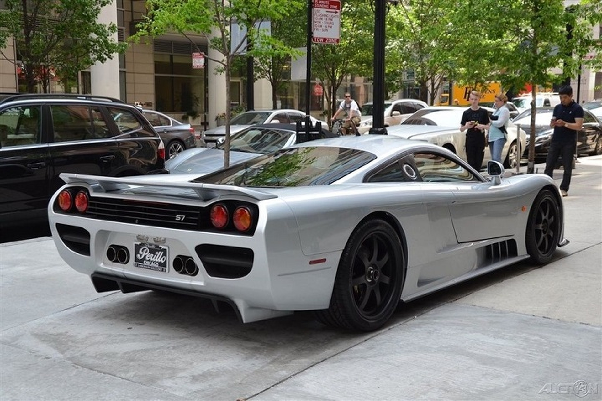 Stunning Saleen S7 Signed by Steve Saleen Hits the Used Market