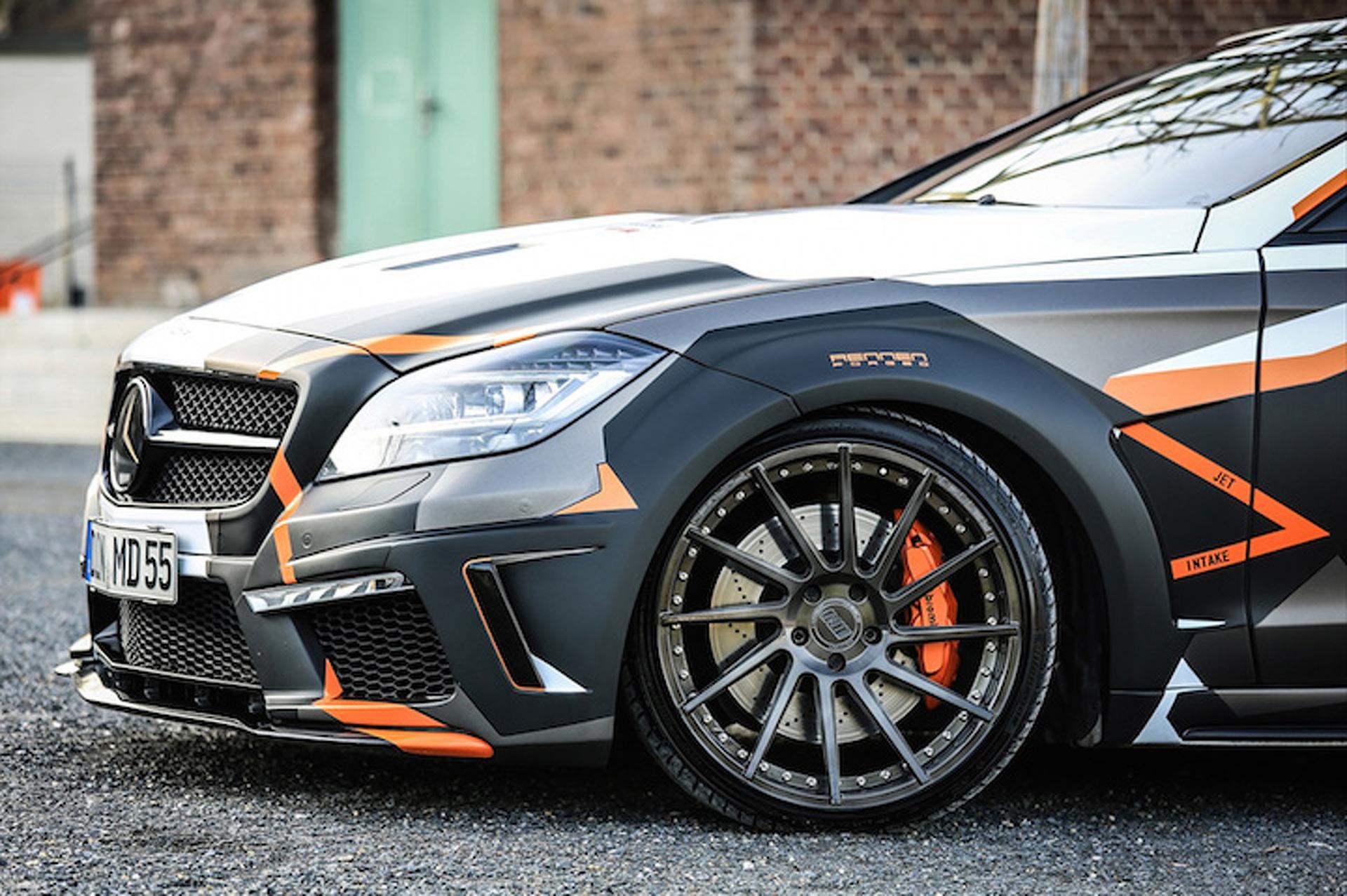 Custom mercedes benz cls 500 hides in plain sight for Mercedes benz custom