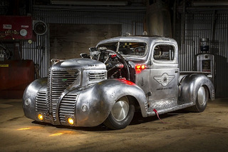 1939 Plymouth Pickup Hot Rod is an Apocalyptic, Airplane-Powered Piece of Art